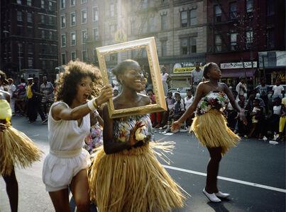 Art Is. . . (Dancer in Grass Skirt),
