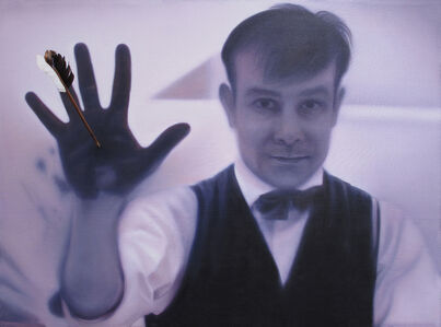 Myth of Silence (anthropometry in twenty minutes): After Yves Klein