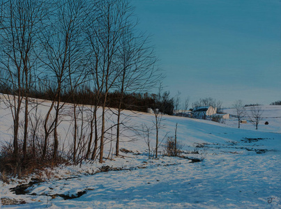 Pond Run, January