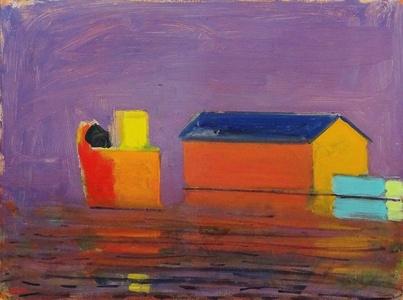 Provincetown Pier, Lavender Day