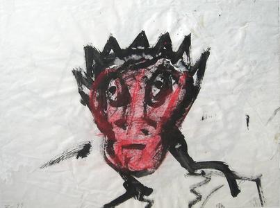 Untitled (Crowned Portrait)