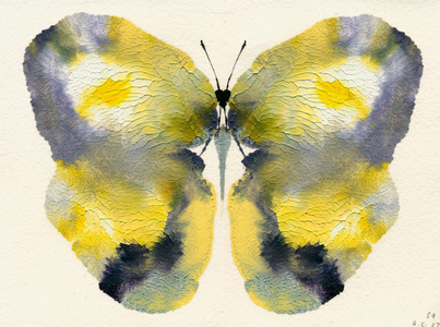 Butterfly #59 from A Painting Collection, 2008 Volume I