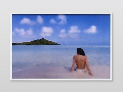 Jennifer in Paradise, Palet Knife, CS6 lenticular series