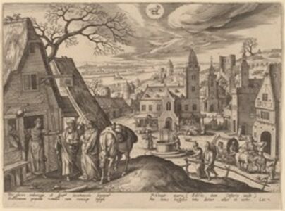 The Virgin and Joseph Refused at the Inn (Capricornus)