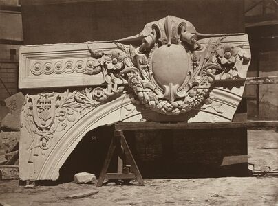 Ornamental Sculpture from the Paris Opera House (Arch Detail)