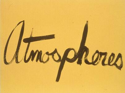 Atmospheres (Signs of love)
