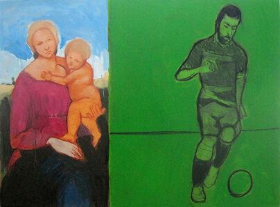 La Madonna y el futbolista
