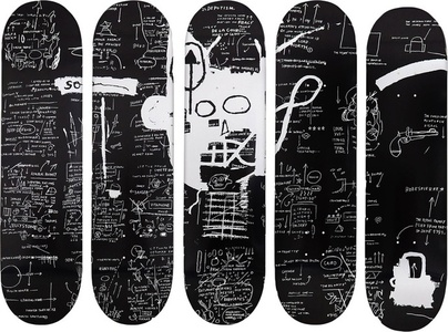 Set of Five Skateboards