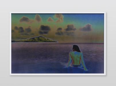 Jennifer in Paradise, Stylize_Solarize, CS6 lenticular series
