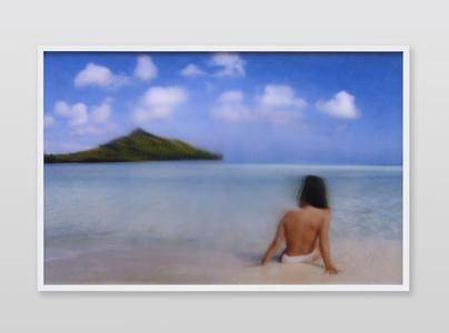 Jennifer in Paradise, Distort_Pinch_-100, CS6 lenticular series