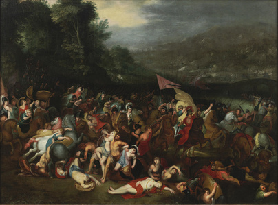 The Battle of the Amazons,