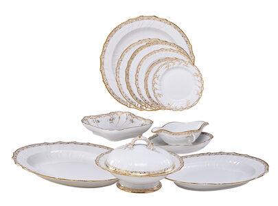 Extensive Kpm Porcelain Dinner Service