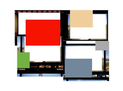 Folio au carré rouge (d'après Highway confidential, 1985)