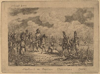 Napoleon I and Captain Elphinstone (Napoleon I et le Capitaine Elphinstone)