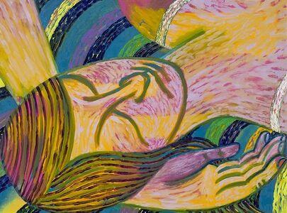 Painter Sleeping