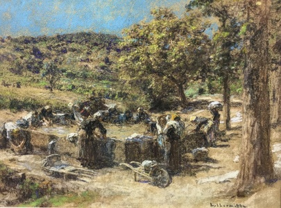 Lavandieres en Provence