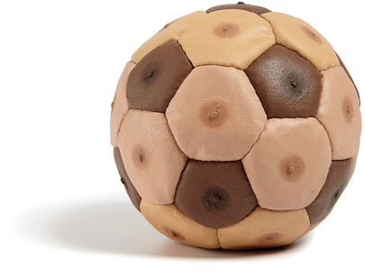 Male Nipples Soccer Ball (from the series Human Furiery)