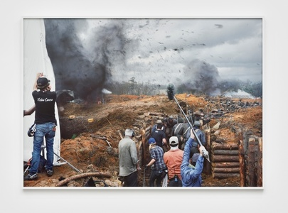 """Film Set (""""Free State of Jones""""), Battle of Corinth, Bush, Louisiana, from The Silent General"""