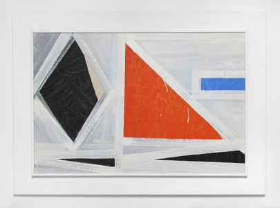 Untitled (red triangle)