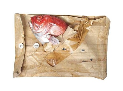 Red Fish in Envelope