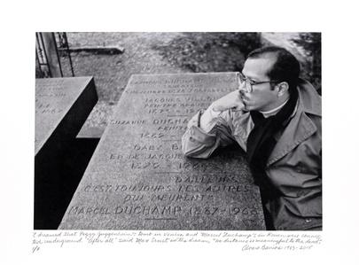 """""""Soñé que las tumbas de Peggy Guggenheim y Marcel Duchamp estaban conectadas bajo la tierra..."""""""
