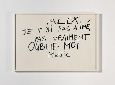 Lettre de Michèle, from Les Amants du Pont-Neuf (1991)