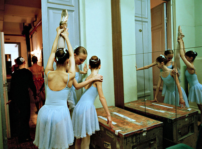 Three 2nd Class Girls Backstage