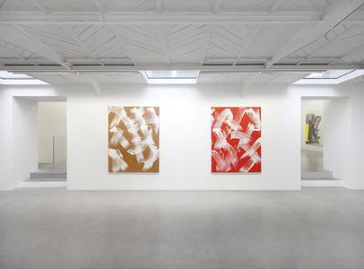 Vues de l'exposition personnelle / Views of the solo exhibition, kamel mennour (47, rue Saint-André des Arts), Paris, 2015