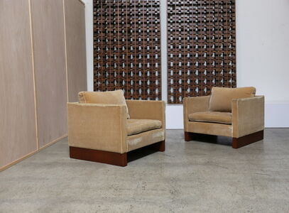 Lounge Chairs by Ludwig Mies van der Rohe