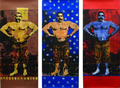 Pahlavan Triptych