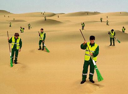 The Desert Sweeper