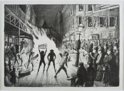 Election Night Bonfire