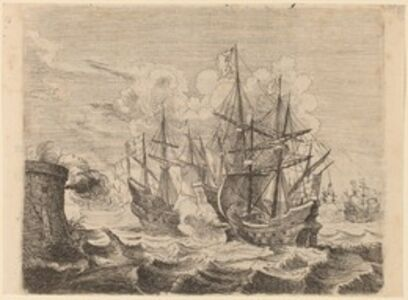 Heemskerck's Victory Over the Spanish Fleet at Gibraltar