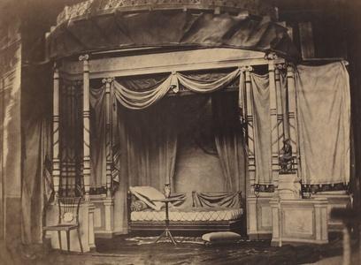 Bedroom display in the Paris Universal Exposition of 1855