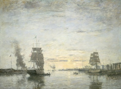 Entrance to the Harbor, Le Havre