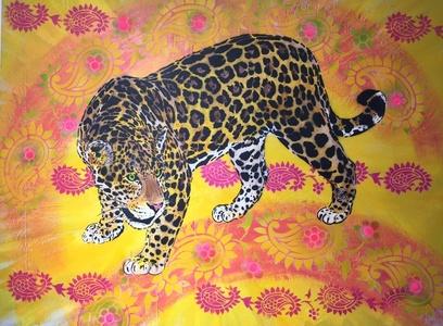 Jaguar Fond Cachemire