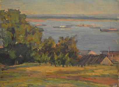 Volga River near Nihzni Norgorod