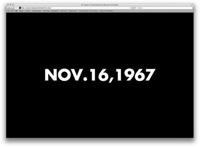 On Kawara Time Machine