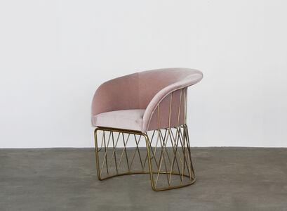 Mohair Equipal Chair