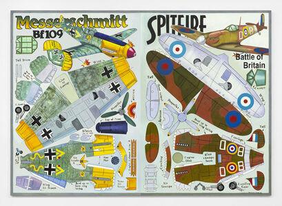 Messerschmitt with Spitfire