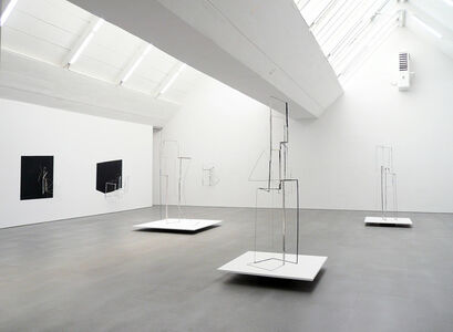 I become almost a shadow - exhibition view at carlier | gebauer