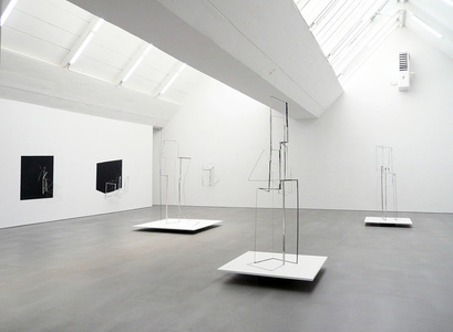 I become almost a shadow - exhibition view at carlier   gebauer