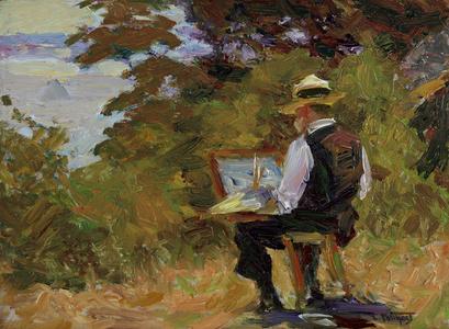 The Artist (Self-Portrait)