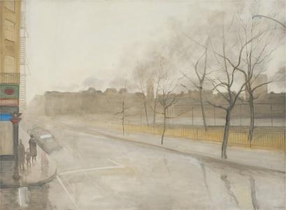 Rain on Avenue B