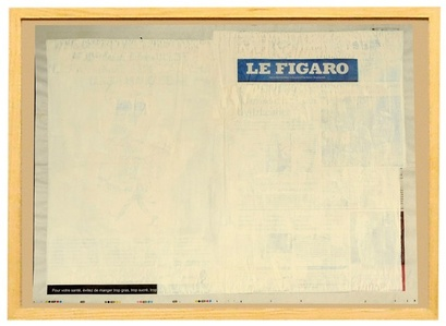 """from the """"Recycled News"""" series ( Le Figaro - French newspaper)"""