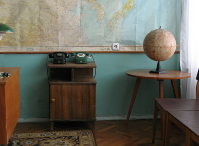 Yuri Gagarin`s office