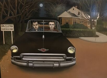 Criminals in Cars:  Dick and Perry