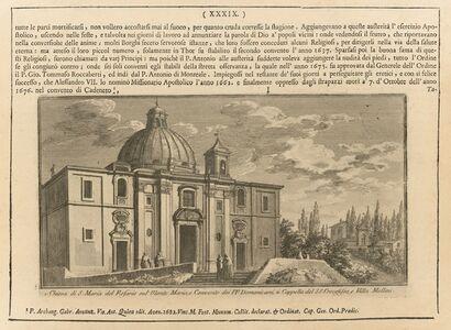 Chiesa di S. Maria del Rosario sul Monte Mario, e Convento dei PP. Domenicani...