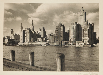 Manhattan Skyline with Chrysler Building