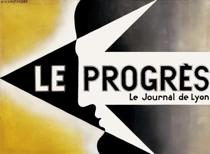Le Progres - Le Journal De Lyon - Maquette